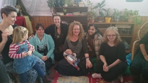 Home birth group with Nicky